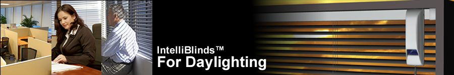 IntelliBlinds for daylighting